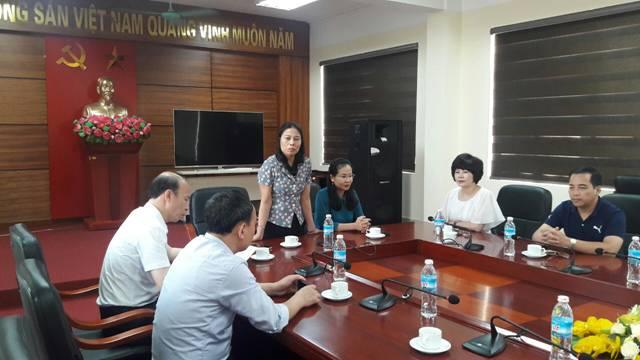 Khoa Dân vận và Phòng Tổ chức hành chính – Tư liệu Trường Chính trị Nguyễn Văn Cừ tỉnh Bắc Ninh nghiên cứu thực tế tại tỉnh Quảng Ninh