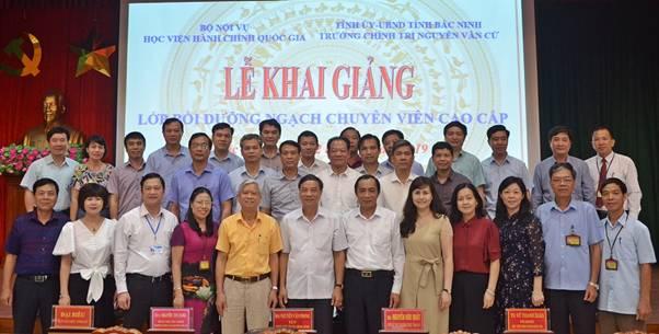 Khai giảng lớp Bồi dưỡng ngạch Chuyên viên cao cấp năm 2019
