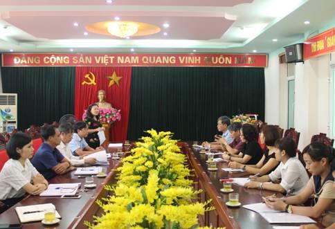 Đoàn cán bộ Trường Chính trị Nguyễn Văn Cừ đi khảo sát, nghiên cứu thực tế tại tỉnh Phú Thọ và tỉnh Vĩnh Phúc