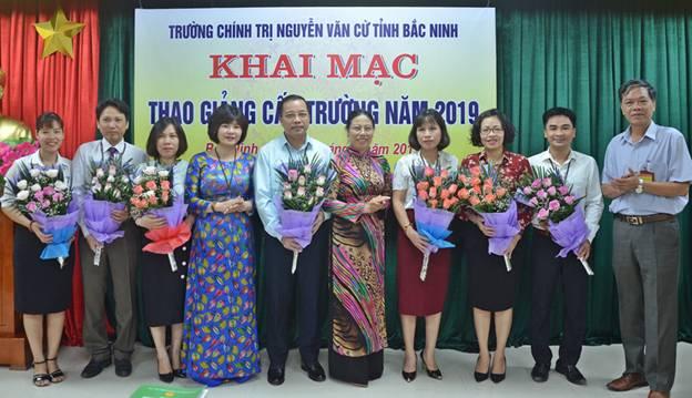 Trường Chính trị Nguyễn Văn Cừ tổ chức Thao giảng cấp Trường năm 2019